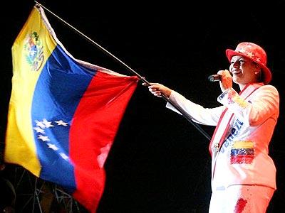 Olga Tañón en Venezuela.