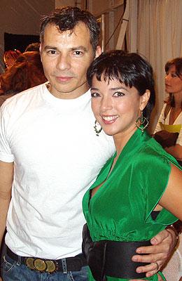 Adamari López y Gustavo Arango