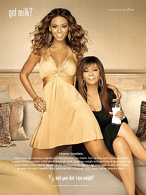 Beyonce Knowles y Tina Knowles