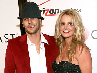 Kevin Federline y Britney Spears