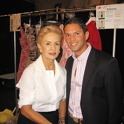 Carolina Herrera y Rodner Figueroa