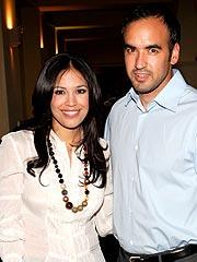Karla Martínez y su esposo Emerson Peraza