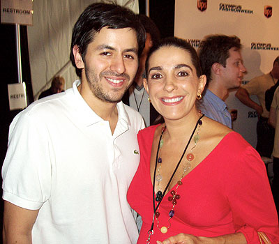 Brian Reyes y Kika Rocha