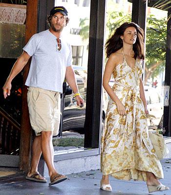 Matthew McConaughey y Penelope Cruz