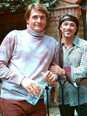 Juan Soler y Sergio Mayer