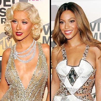 Christina Aguilera, Beyoncé Knowles