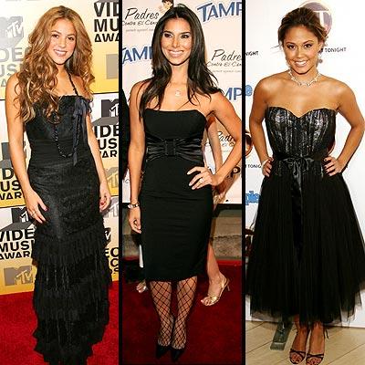 Shakira, Roselyn Sánchez, Vanessa Minillo