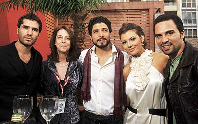 Eduardo Verástegui, Aly Landri y Alejandro Monteverde
