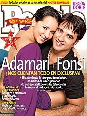 Luis Fonsi y Adamari López