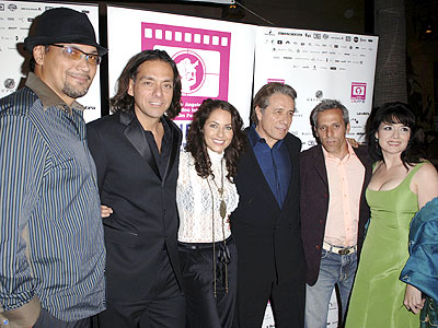 Jimmy Smiths, Barbara Mori y Edward James Olmos