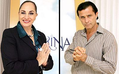 Susana Dosamantes y Humberto Zurita
