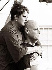 María Antonieta Collins y Fabio Fajardo, en septiembre del 2006.
