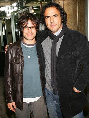 Gael García Bernal y Alejandro González Iñárritu