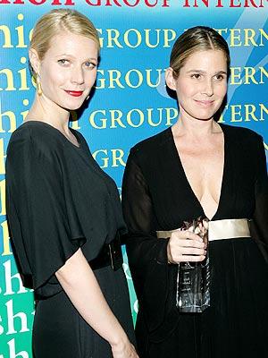 Gwyneth Paltrow y Aerin Lauder