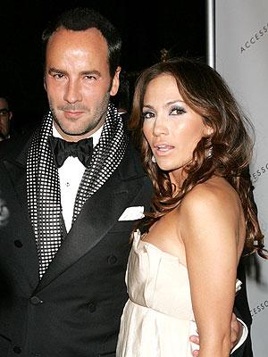 Tom Ford y Jennifer López