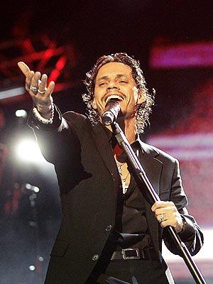 Marc Anthony en concierto en Tenerife.