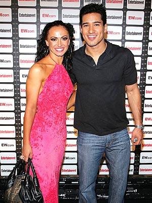 Mario López y Karina Smirnoff