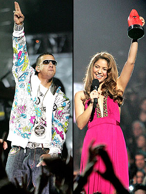 Daddy Yankee y Shakira