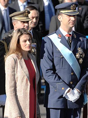 Princesa Letizia y Principe Felipe