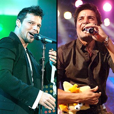 Ricky Martin y Chayanne