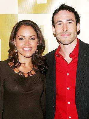 Susie Castillo y su esposo