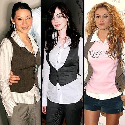 Lucie Liu, Anne Hathaway y Paulina Rubio