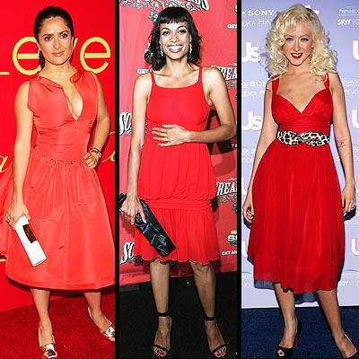Salma Hayek, Rosario Dawson y Christina Aguilera