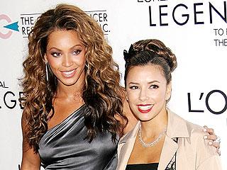 Beyonce Knowles y Eva Longoria