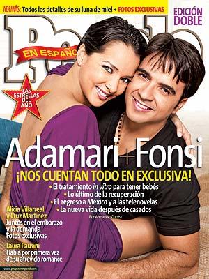 Estrellas del año: Luis Fonsi y Adamari López