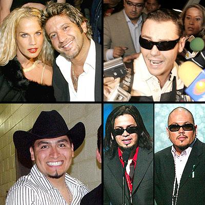 Bobby Niurka, AB quintanilla, Cruz Martinez, tiziano Ferro, Trigo Figueroa