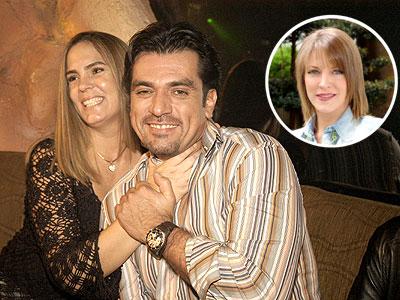 Jorge Salinas; Fatima Boggio y Andrea Noli