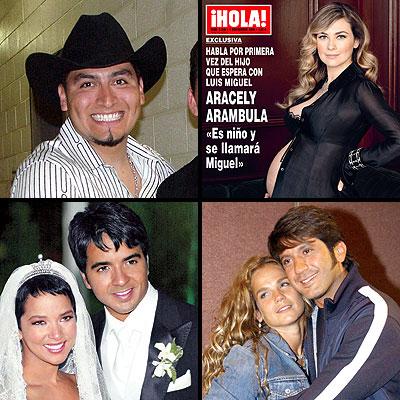 Trigo figueroa; Aracely Arambula; Luis FOnsi y Adamari Lopez y Bobby y Niurka