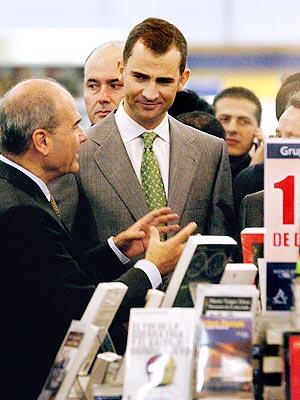 Príncipe Felipe en México.