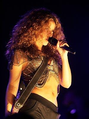 Shakira en Perú.