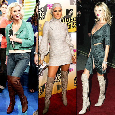 Jessica Simpson, Jennifer Lopez, Eva Herzigova