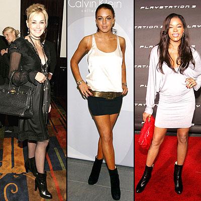 Sharon Stone, Lindsay Lohan