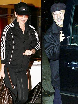 Thalía y Tommy Mottola en Nueva York.