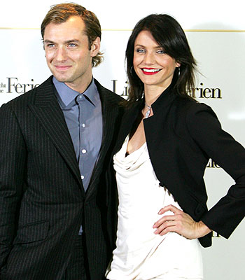 Jude Law y Cameron Diaz