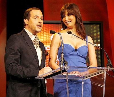 Carlos Calderón y Giselle Blondet