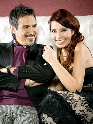 Pedro Damián y Carla Estrada.