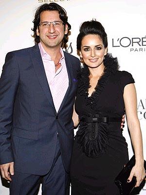 Ana de la Reguera y Peter Castro.
