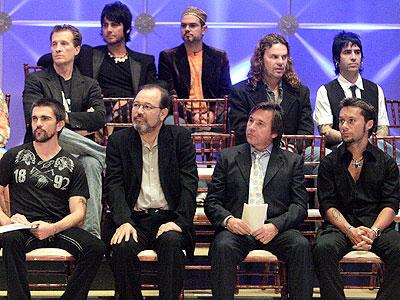 Juanes, Juan Luis Guerra, Diego Torres, Mana, Emmanuel, Carlos Slim