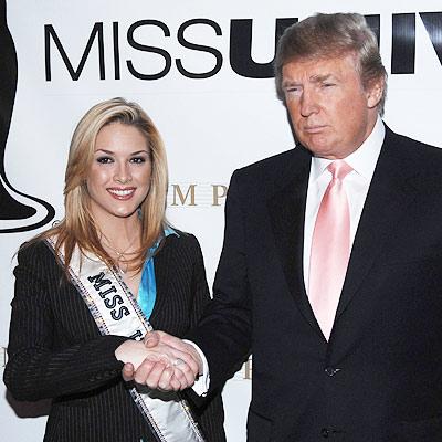 Tara Connor y Donald Trump