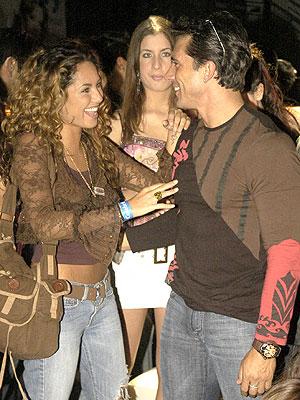 Barbara Mori y Sergio Mayer