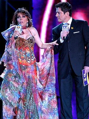 Verónica Castro y Ernesto Laguardia