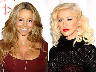 Mariah Carey y Christina Aguilera