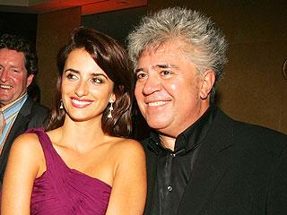 Penelope Cruz y Pedro Almodovar