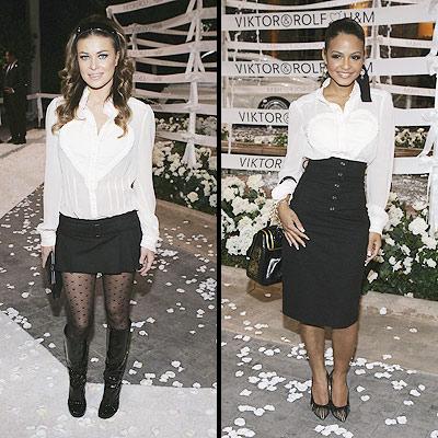 Carmen Electra y Christina Milián