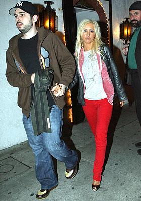 Jordan Bratman y Christina Aguilera