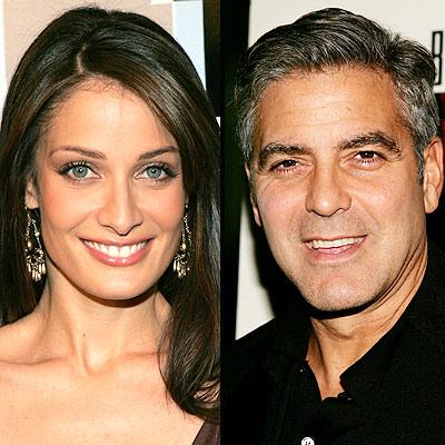 Dayanara Torres y George Clooney